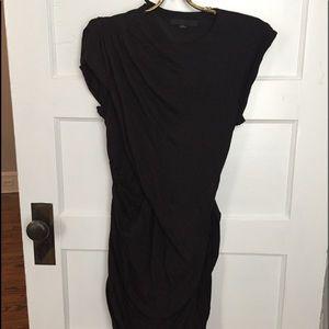Alexander Wang Asymmetrical Jersey Dress